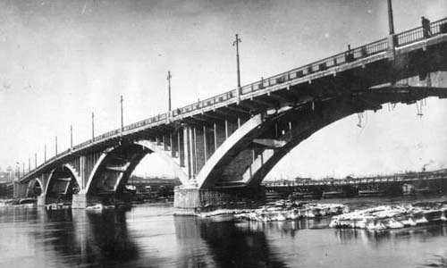 First bridge-building company in USSR