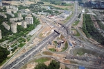 Сonstruction progress of the Northern Moscow Businovskaya Traffic Interchange (2011-2015)