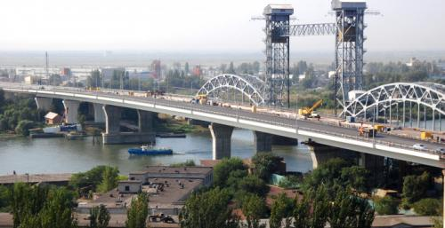 Bridge over Don River at Sivers str. in Rostov-on-Don (2010)