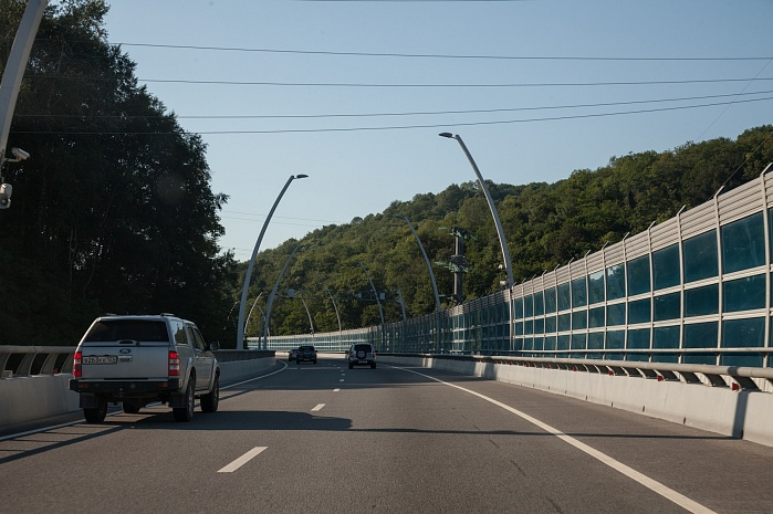 Kurortny Avenue Relief Road in Sochi, phase 1 (2012)